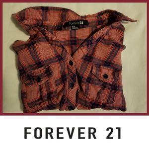 Cute Fall Womens Plaid Button Up Tight Waist Shirt
